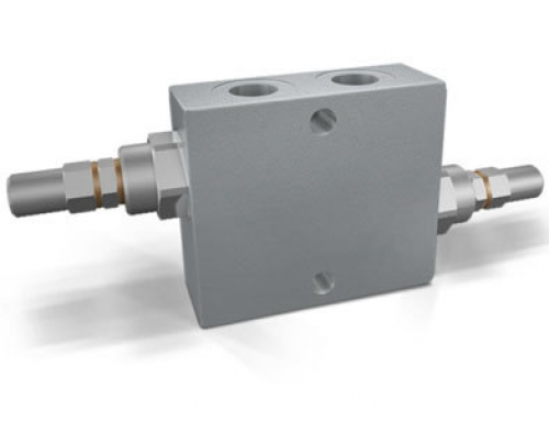 Válvulas limitadoras de presión dobles cruzadas