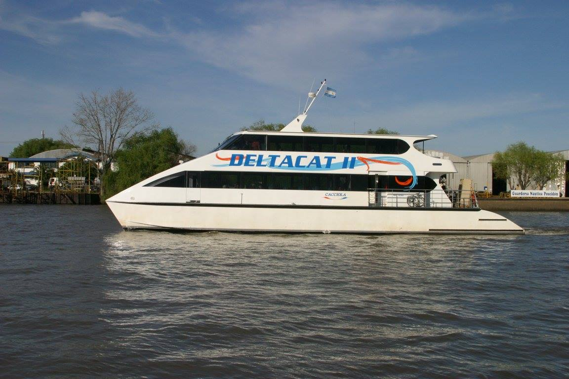 Catamarán Deltacat II -Astillero Tecnao-