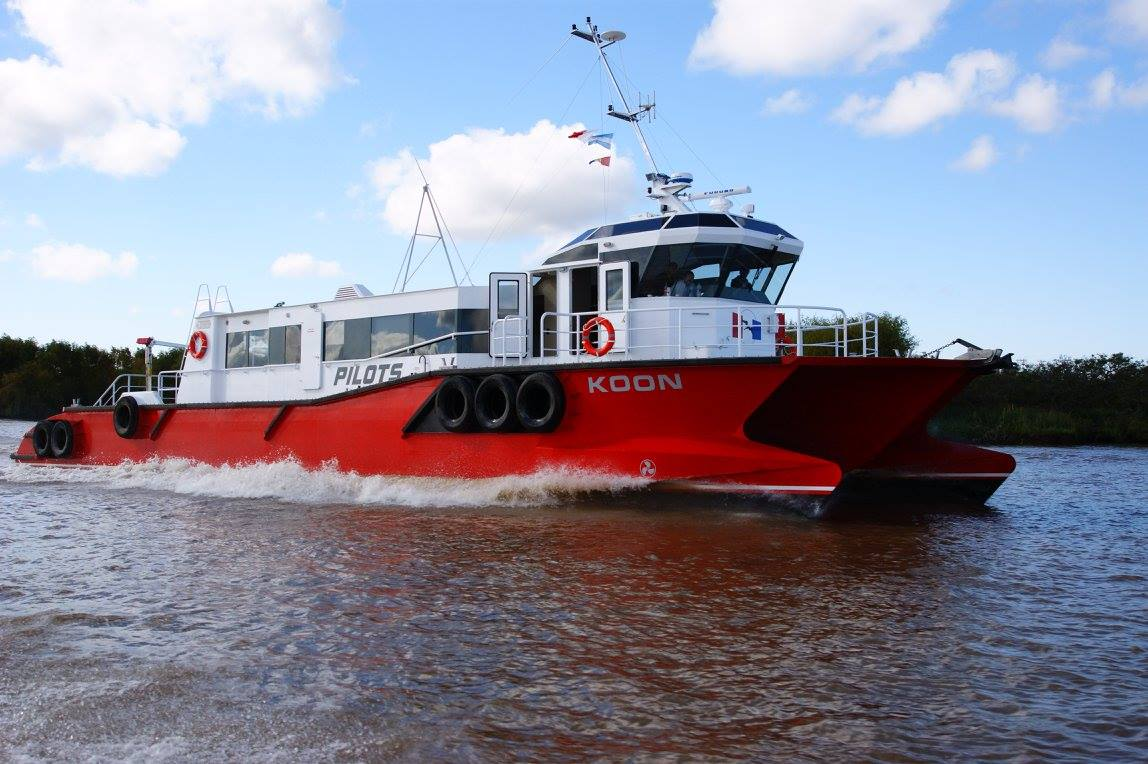 Catamarán para prácticos Koon -Astillero Tecnao-