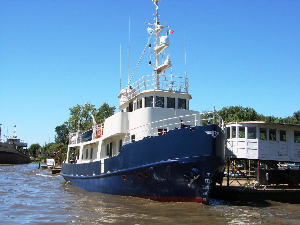 Crucero oceánico Catriel -Astillero Tecnao-