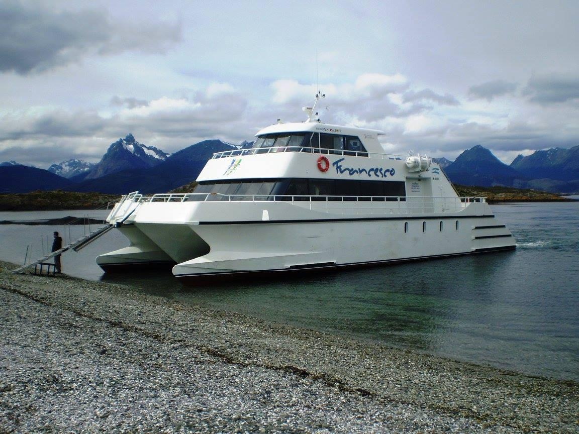 Catamarán Francisco -Astillero Tecnao-