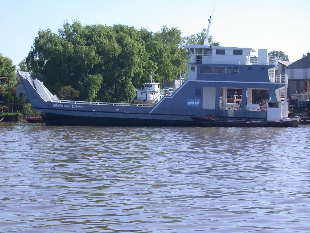 Transbordador Argentino Supply -Astillero Tecnao-