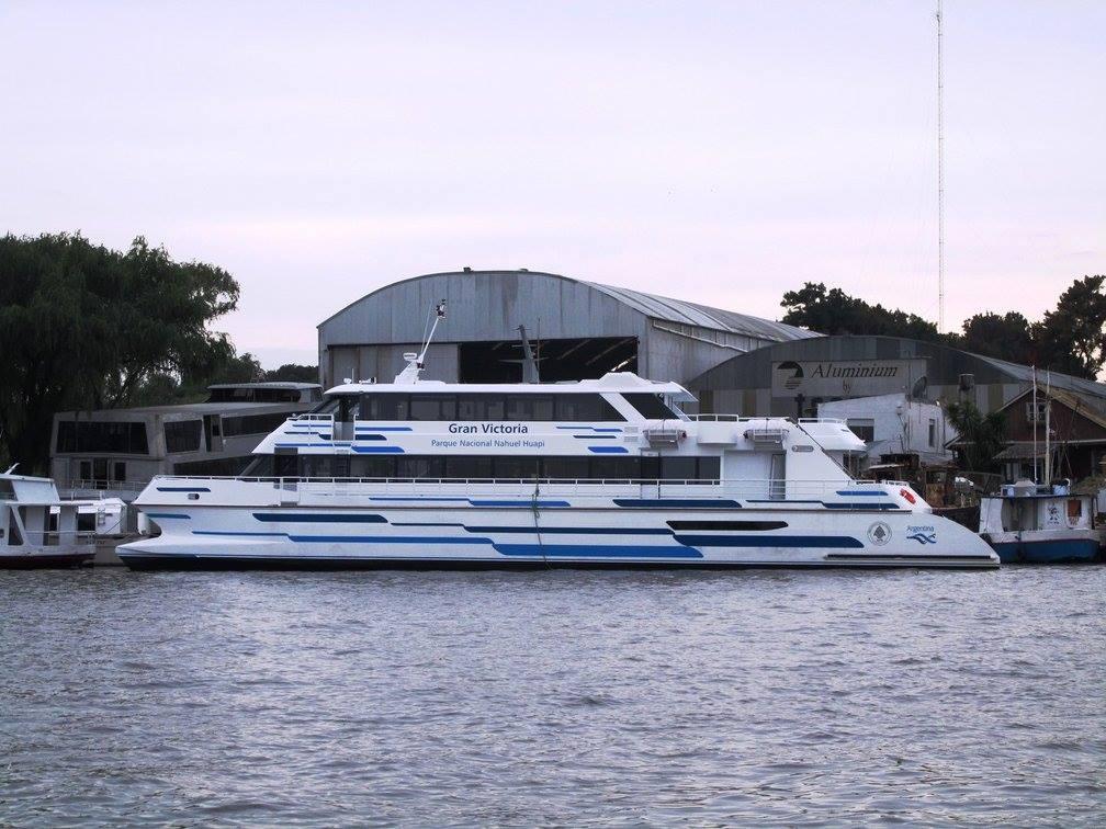 "Catamarán ""Gran Victoria"" -Astillero Tecnao-"